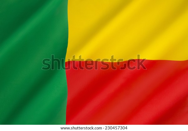 Flag of Benin - Adopted in 1959 to replace the French tricolor, it was the flag of the Republic of Dahomey until 1975,  Following the revolution of 1989 the pre-1975 flag was restored.
