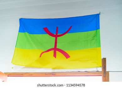 the flag of the Berbers