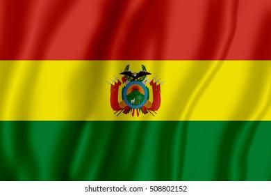 Flag of Bolivia (Plurinational State of Bolivia)