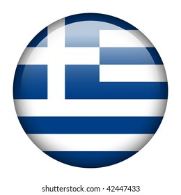 Flag button series of all sovereign countries - Greece
