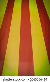 Flag of Catalonia or Cataluna - The Senyera, the autonomous communities of Spain - red stripes on a golden background