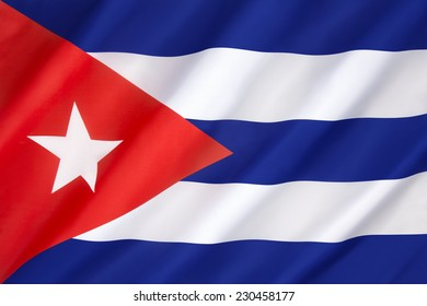 Flag of Cuba - adopted on 25th June 1848.