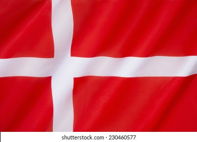 Flag of Denmark (Dannebrog) - The design of the Dannebrog is recorded on a seal from 1397. According to legend, the flag came into Danish possession during the Battle of Lyndanisse in 1219.