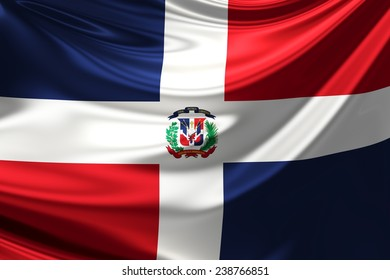 Flag of Dominican Republic.