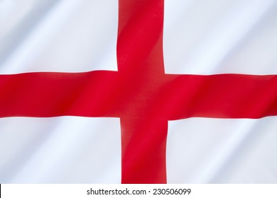 Flag of England - The association of the red cross as an emblem of England can be traced back to the Middle Ages. Used as a component in the design of the Union Flag in 1606.
