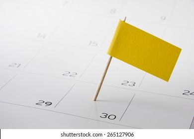 Flag the event date on calendar 2017 - timeline, time, concept, idea, management, concept, page