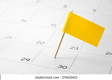Flag the event day or deadline on calendar 2017 - time, page, design, background, timeline, management, concept, background