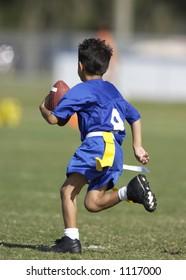 Flag Football Runner