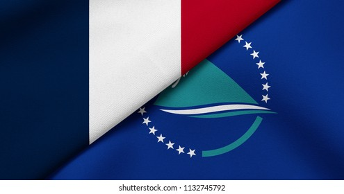 Flag of France and Secretariat of the Pacific Community