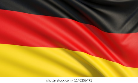 The flag of Germany or German Flag