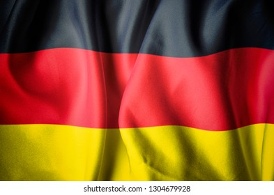 Flag of Germany. National pride and identity concept.