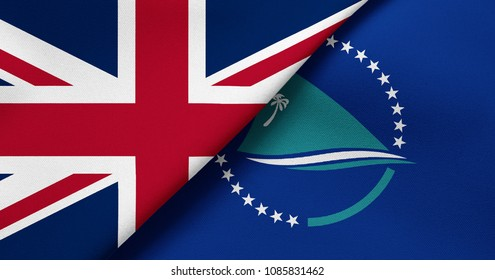 Flag of Great Britain and Secretariat of the Pacific Community