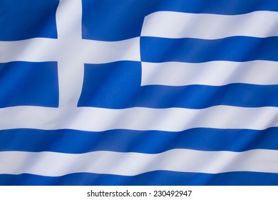 Flag of Greece - Officially adopted by the First National Assembly at Epidaurus on 13 January 1822.