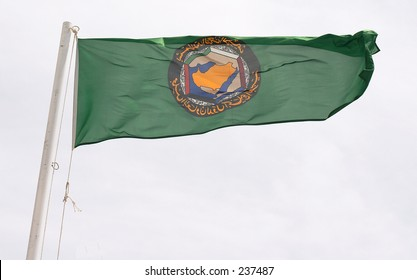 Flag of the Gulf Co-operation Council of Arab states