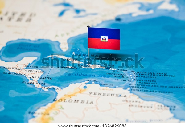 Flag Haiti World Map | Royalty-Free Stock Image on barbados map, antigua and barbuda, maldives map, zimbabwe map, cayman islands, grenada map, americas map, jamaica map, st thomas map, el salvador map, haiti map, turks and caicos islands, trinidad and tobago, dominican republic, caribbean map, montserrat map, st. kitts map, the bahamas, georgia country map, malta map, st. lucia map, martinique map, saint lucia, costa rica map, dominican republic map, iceland map, fiji map,