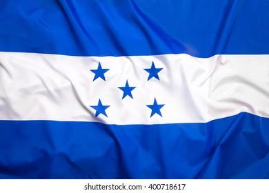Flag of Honduras as a background