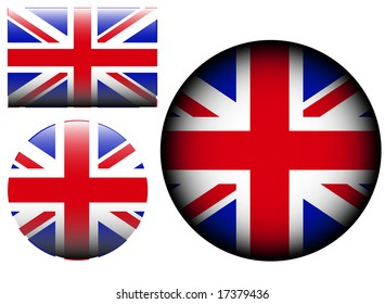 flag icon vector - great britain