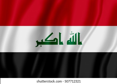 Flag of Iraq (Republic of Iraq)