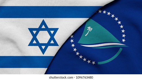 Flag of Israel and Secretariat of the Pacific Community