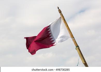 Flag of Katar