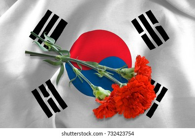 Royalty Free South Korea Flag Wallpaper Stock Images Photos