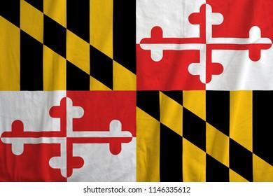 Flag of Maryland, USA