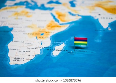 Mauritius Map Pin Images, Stock Photos & Vectors | Shutterstock