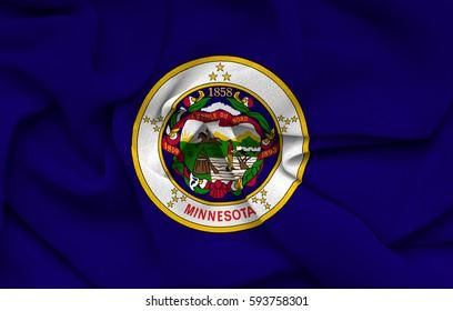 Flag of Minnesota state (USA)