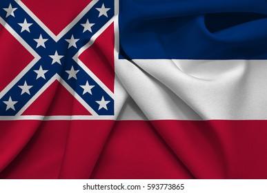 Flag of Mississippi state (USA)