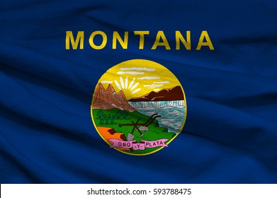 Flag of Montana state (USA)