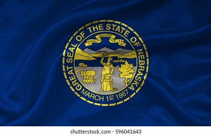 Flag of Nebraska state (USA)