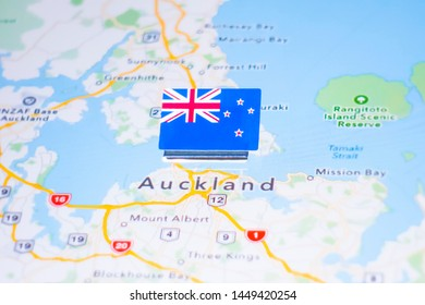 Where Is Auckland New Zealand On The Map.Auckland Map Images Stock Photos Vectors Shutterstock