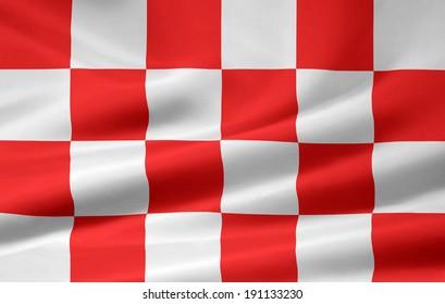 Flag of North Brabant - Netherlands
