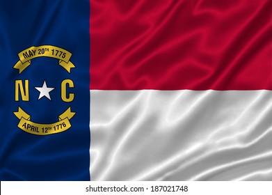 Flag of North Carolina state (USA)
