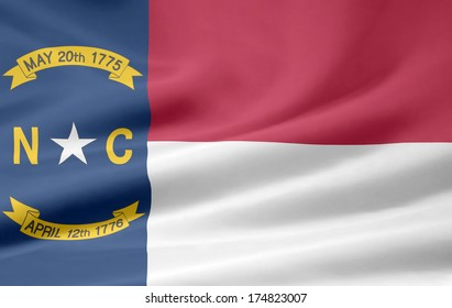 Flag of North Carolina  - USA