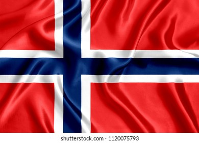 Flag of Norway Silk