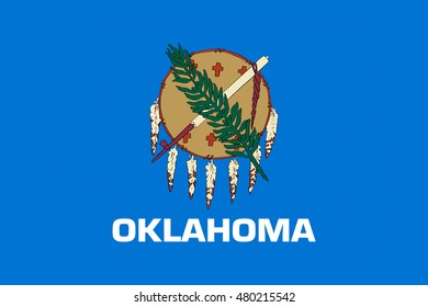 Flag of Oklahoma is a state in United States