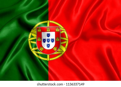 Flag of Portugal Silk
