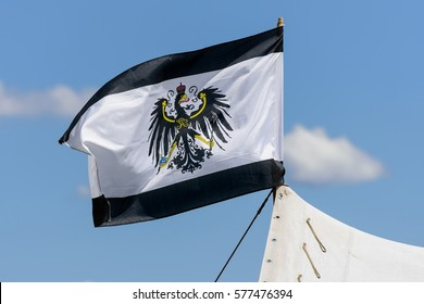 Flag of Prussia from the period of the First World War