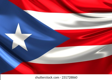 Flag of Puerto Rico.