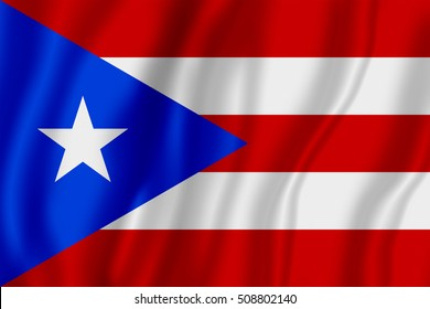 Flag of Puerto Rico (?ommonwealth of Puerto Rico)