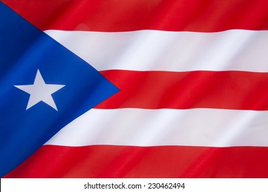 Flag of Puerto Rico - The origins of the current flag, adopted in 1952, can be traced to 1868, when the first flag -The Flag of Lares was used in the Puerto Rican revolt against Spanish rule.