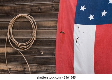 Flag and Rope
