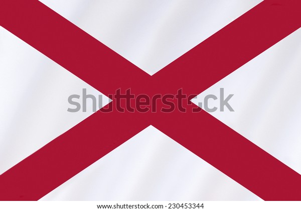 Flag of Saint Patrick - Represents the island of Ireland or Saint Patrick, the patron saint of Ireland. Most Irish nationalists reject its use to represent Ireland, calling it a 'British invention'.