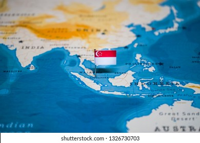 Singapore Pin On Map Images Stock Photos Vectors Shutterstock