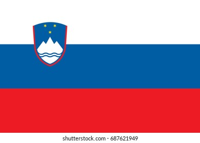 Flag of Slovenia.