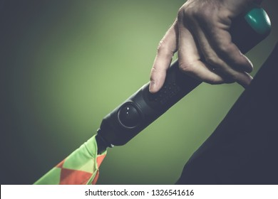 Flag of Soccer Assistant Referee Signals