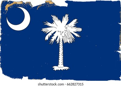 The Flag Of South Carolina