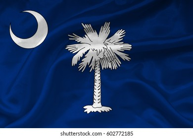 Flag of South Carolina state (USA)