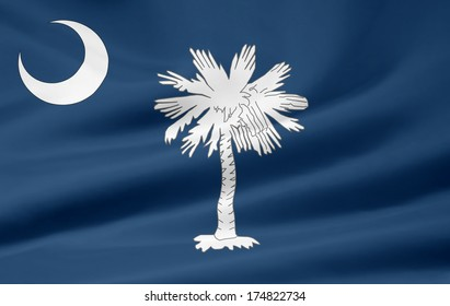 Flag of South Carolina - USA